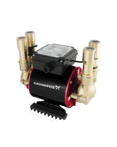 Grundfos STN 2 Bar Brass Negative Twin Impeller Shower Pump