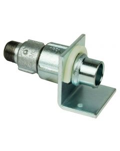 """Primofit Adaptor - 1"""" Bspm x 32mm MDPE to Accept GRP Sleeve - Wall Mounted"""