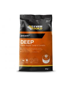 Jetcem Deep Rapid Setting Sand & Cement 6kg