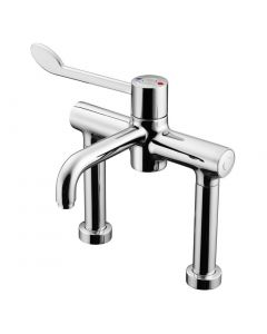 Markwik Deck Mounted Sequential Thermostatic Mixer W/ Bioguard