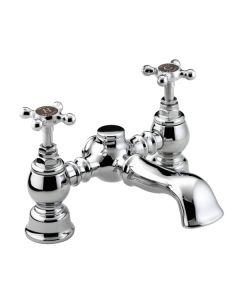Bristan Trinity Bath Filler (Chrome Plated)