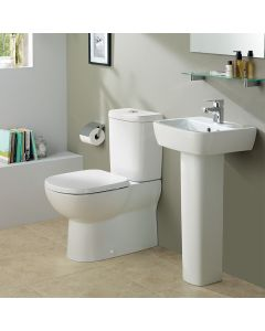 Ideal Standard Tempo Soft Close Toilet Seat and Cover (White)