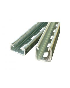 6m Length Of 40mm X 40mm Slotted Channel