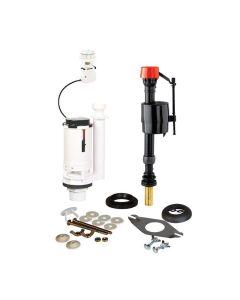 Fluidmaster Universal Cistern Pack c/w Brass shank Floatvalve, CDFV Fl