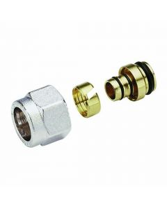 "16mm x 1/2"" Multilayer Adaptor For Manifolds"
