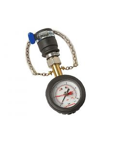 Water Pressure Test Gauge, 0-10 bar