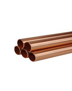 "3m Length ½"" Copper Pipe"