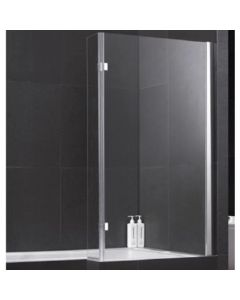 Elite Bathscreen For L Shaped Shower Bath (6mm glass)