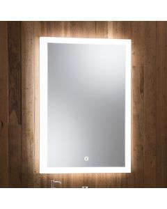 Stella Led Mirror 700X500MM Demist/Touch Switch