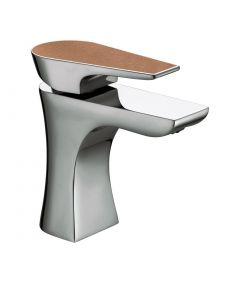 Bristan Hourglass Basin Mixer with Clicker Waste (Copper Radiance)