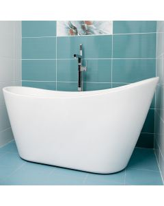 Relax Freestand Bath 1660x725x740mm Including Waste/Flow